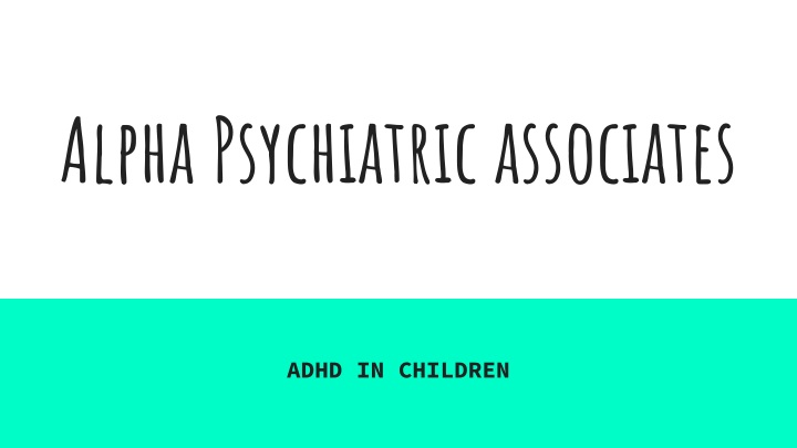 alpha psychiatric associates n.