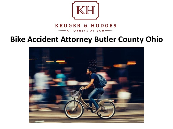 bike accident attorney butler county ohio n.