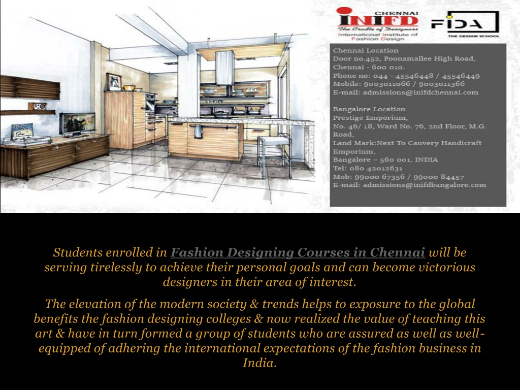 Ppt Why Choose Chennai Location For A Fashion Designing Studies Powerpoint Presentation Id 8149853