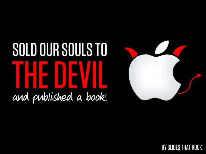 sold our souls to the devil and published a book n.