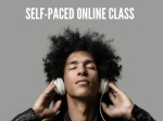self paced online class