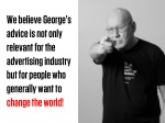 we believe george s advice is not only relevant