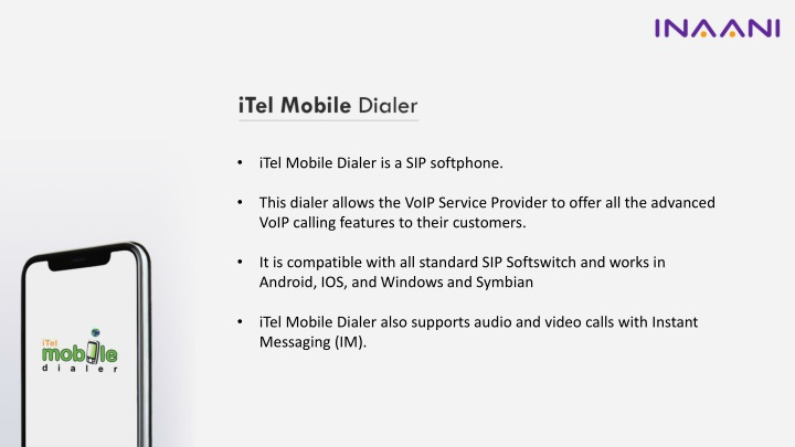 PPT - What makes iTel Mobile Dialer the best for Hosted VOIP