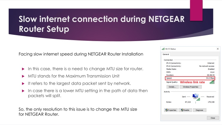 PPT - Issues during NETGEAR Router Setup PowerPoint Presentation