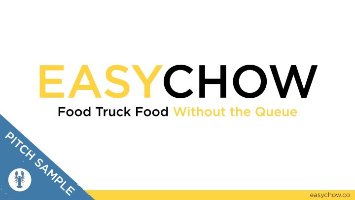 easychow food truck food without the queue n.