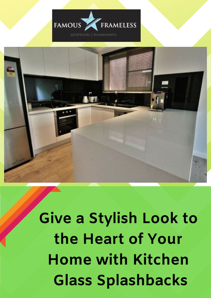 give a stylish look to the heart of your home n.