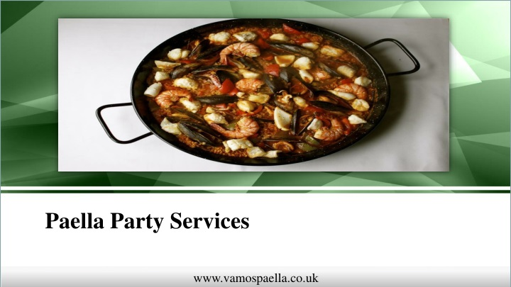paella party services n.