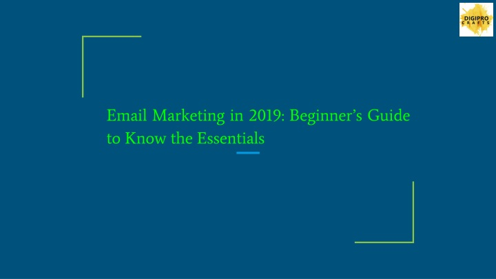 email marketing in 2019 beginner s guide to know the essentials n.