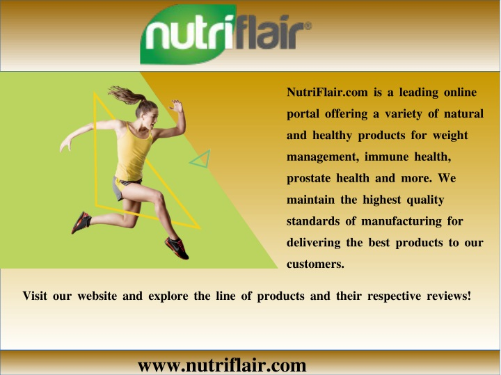 nutriflair com is a leading online portal n.