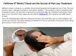 foligrow xt works check out the secrets of hair loss treatment