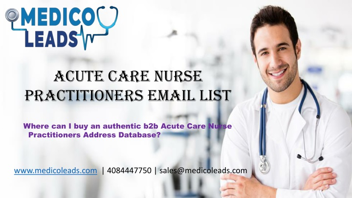 acute care nurse practitioners email list n.