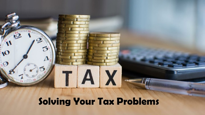 solving your tax problems n.