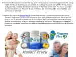 a pharma flex rx inspection revealed that