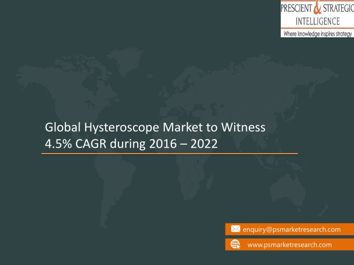 global hysteroscope market to witness 4 5 cagr n.