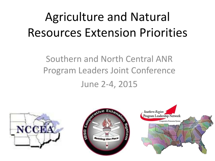 agriculture and natural resources extension priorities n.