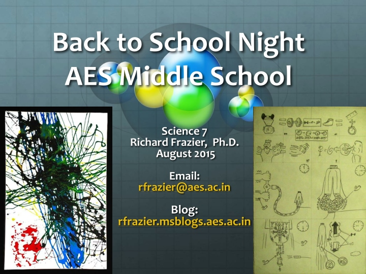 PPT - Back to School Night AES Middle School PowerPoint