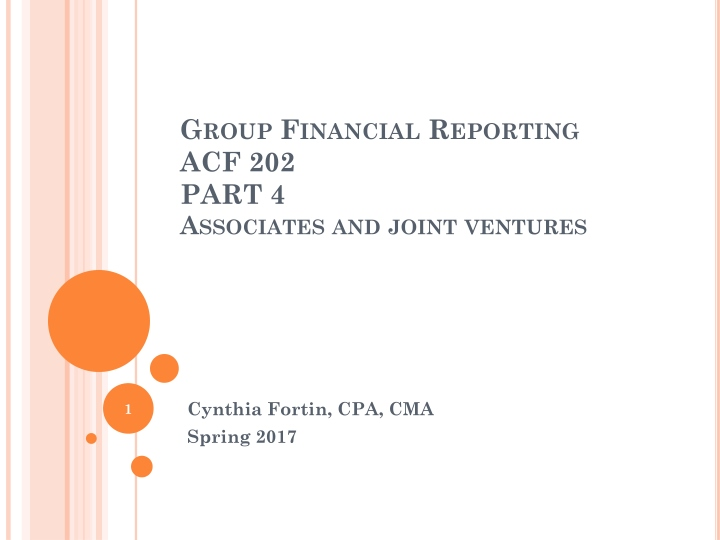 group financial reporting acf 202 part 4 associates and joint ventures n.