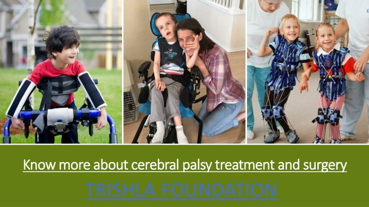 know more about cerebral palsy treatment and surgery n.