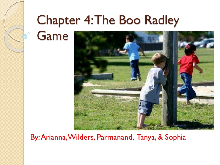 chapter 4 the boo radley game n.
