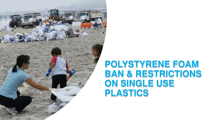 polystyrene foam ban restrictions on single use plastics n.