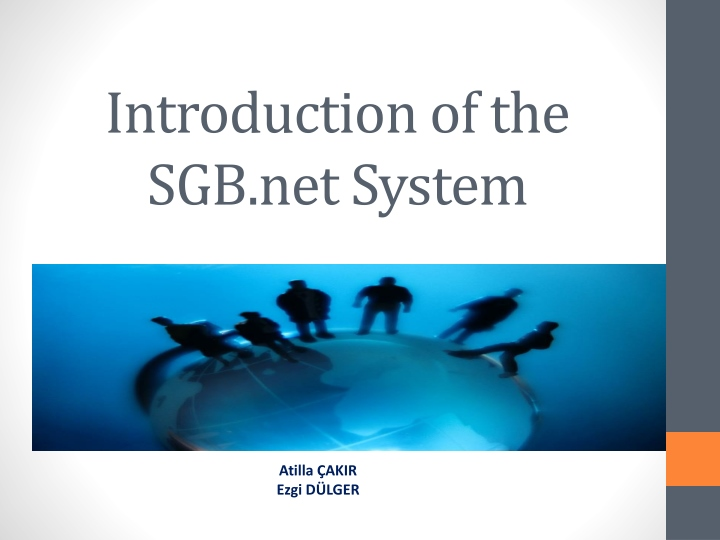 introduction of the sgb net system n.
