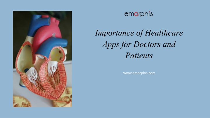 importance of healthcare apps for doctors and patients n.
