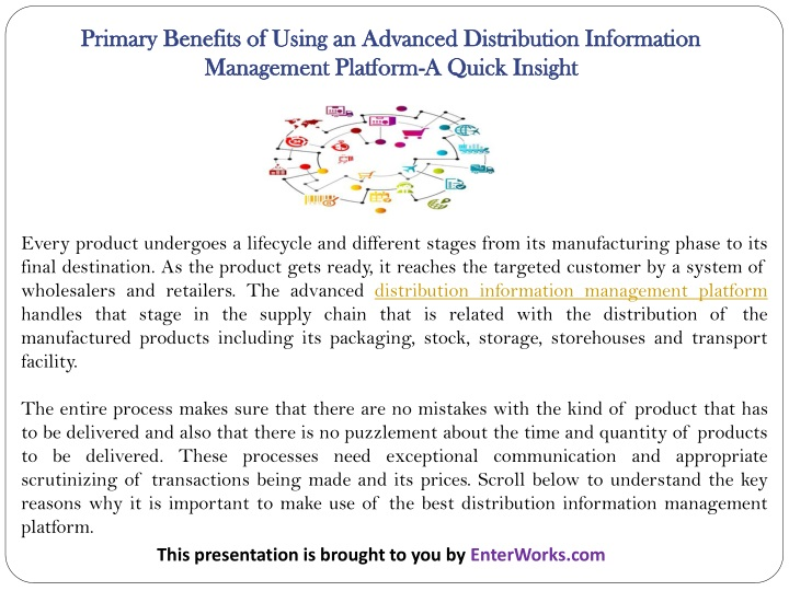 primary benefits of using an advanced n.