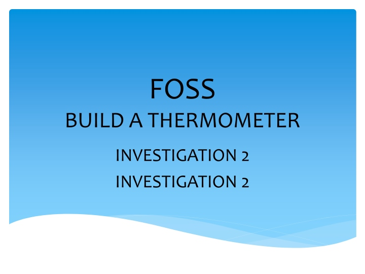 foss build a thermometer n.
