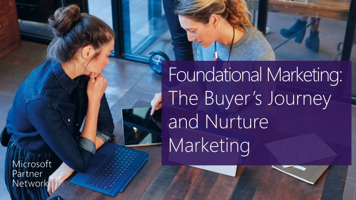foundational marketing the buyer s journey and nurture marketing n.