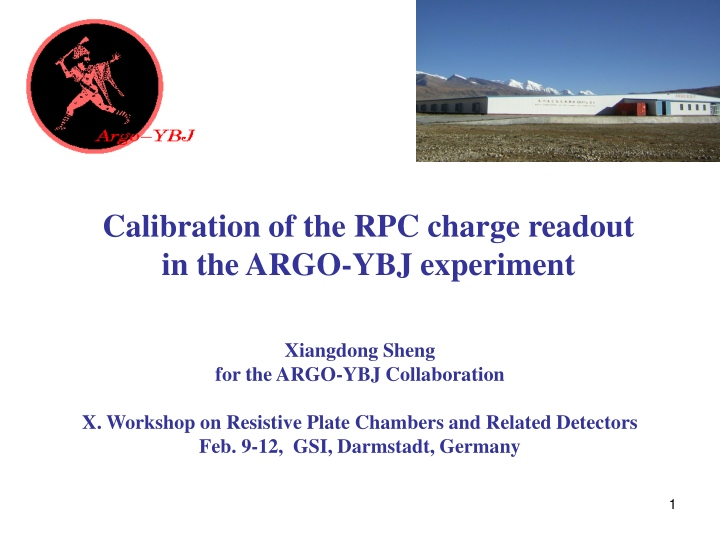 xiangdong sheng for the argo ybj collaboration n.
