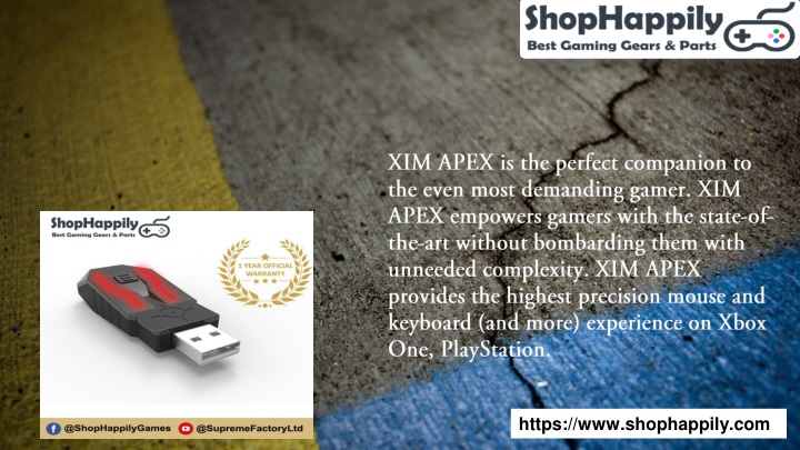 PPT - Xim Apex Settings PowerPoint Presentation - ID:8157824