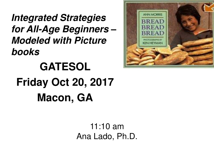 integrated strategies for all age beginners n.