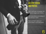 use real videos and photos