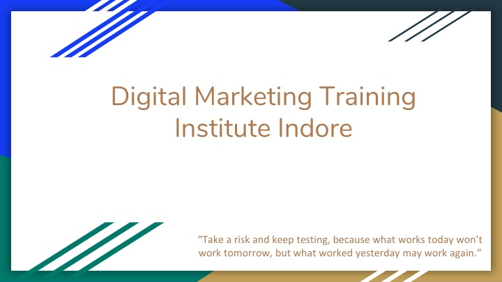 digital marketing training institute indore n.