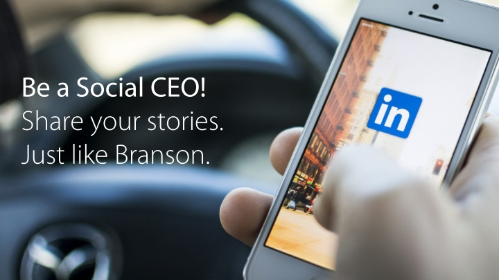 be a social ceo share your stories just like n.
