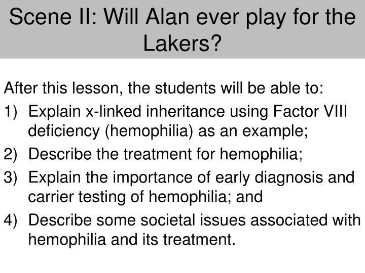 scene ii will alan ever play for the lakers n.