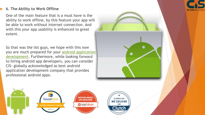 PPT - Feature of Android App PowerPoint Presentation - ID
