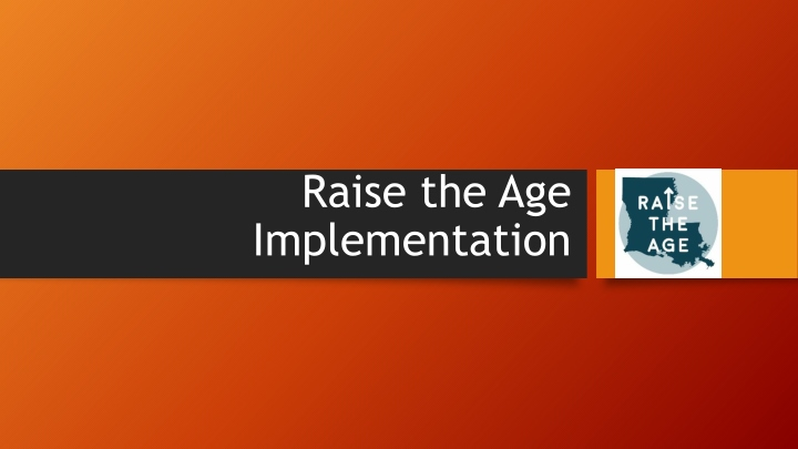 raise the age implementation n.