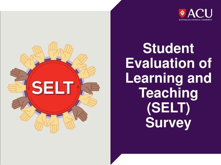 student evaluation of learning and teaching selt survey n.
