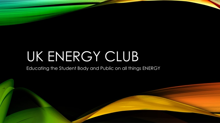 uk energy club n.