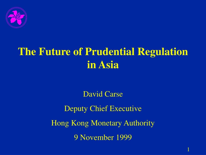 the future of prudential regulation in asia n.
