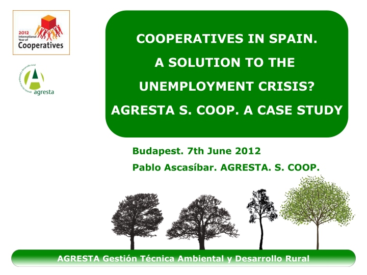 cooperatives in spain a solution n.