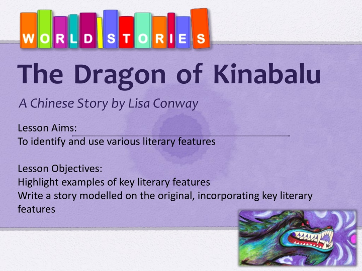 the dragon of kinabalu n.