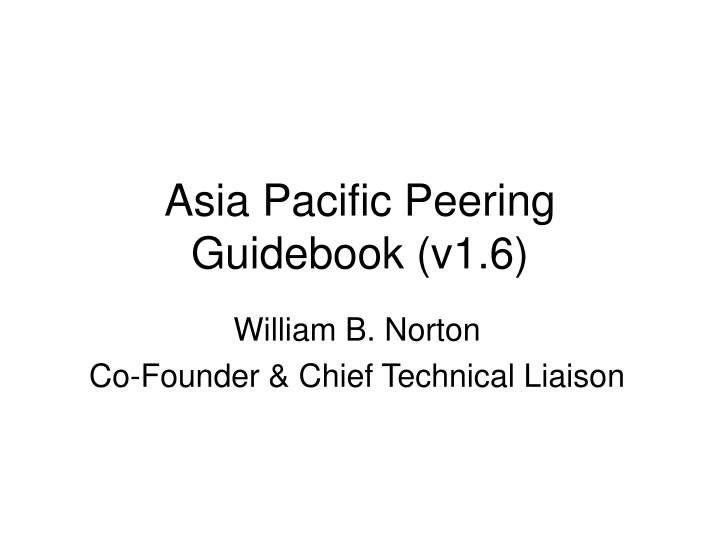 asia pacific peering guidebook v1 6 n.