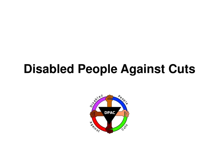 disabled people against cuts n.