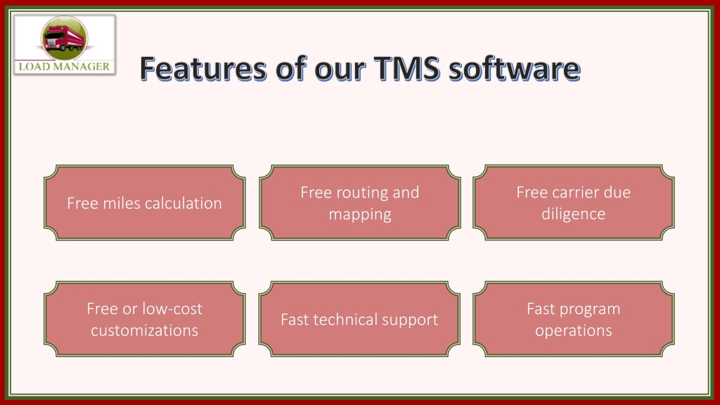 PPT - What Makes Our Trucking Company Management Software