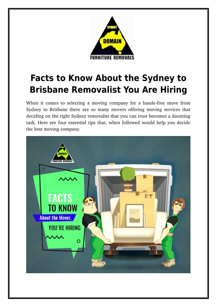 facts to know about the sydney to brisbane n.
