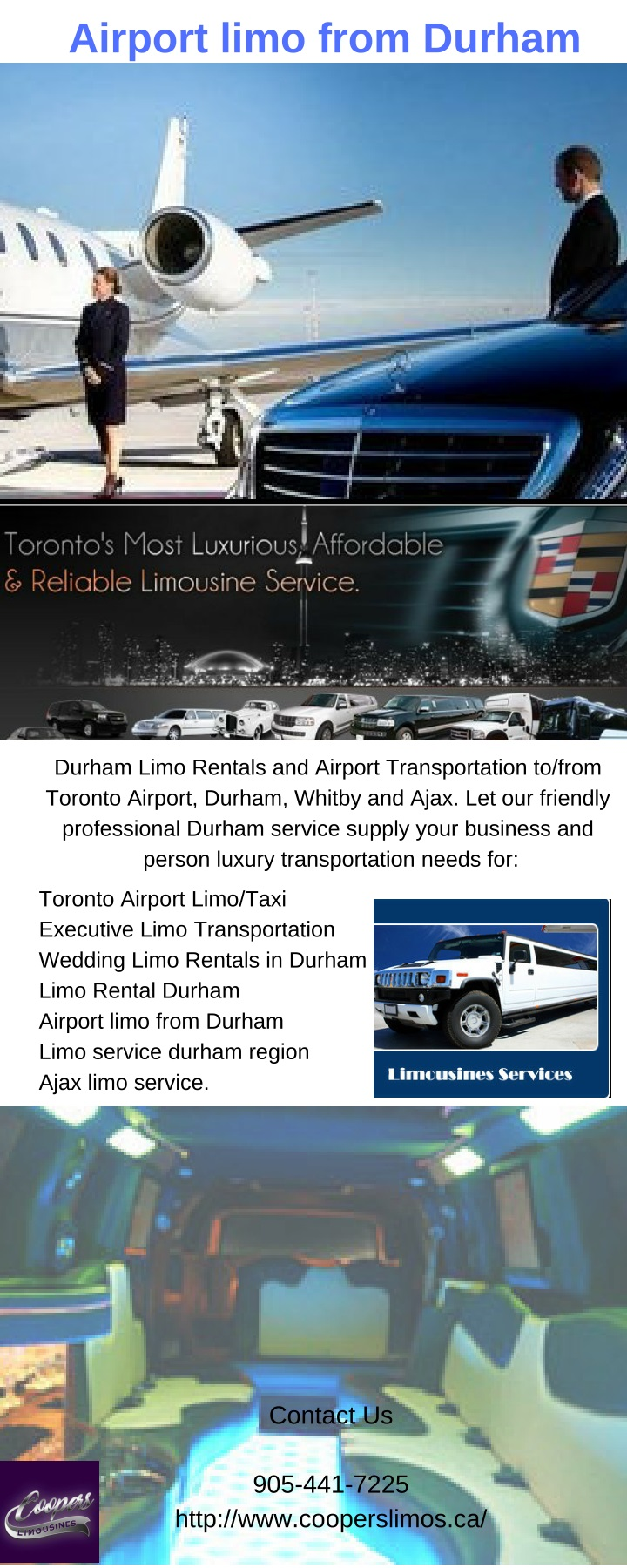 airport limo from durham n.