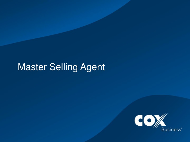 master selling agent n.