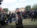 bilal al bayati leading the first iraqi biker